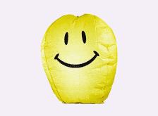 Волшебный фонарик «Шар Желаний желтый смайлик Д 49»