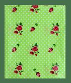Предмет сервировки «Скатерть 108*180 Цветочная полянка, цвет зеленый»