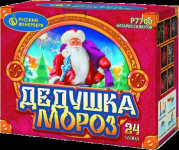 Средний фейерверк «Дедушка Мороз»